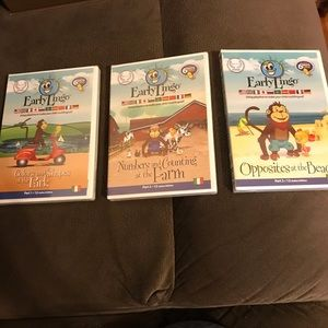 Italian for kids. Early Lingo. Parts 1-3. New